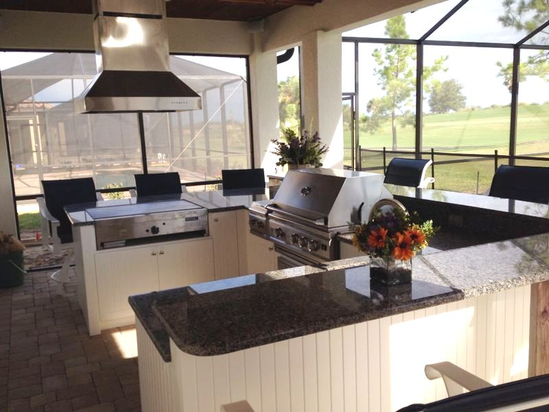 Elite Outdoor Kitchens Design Service Area